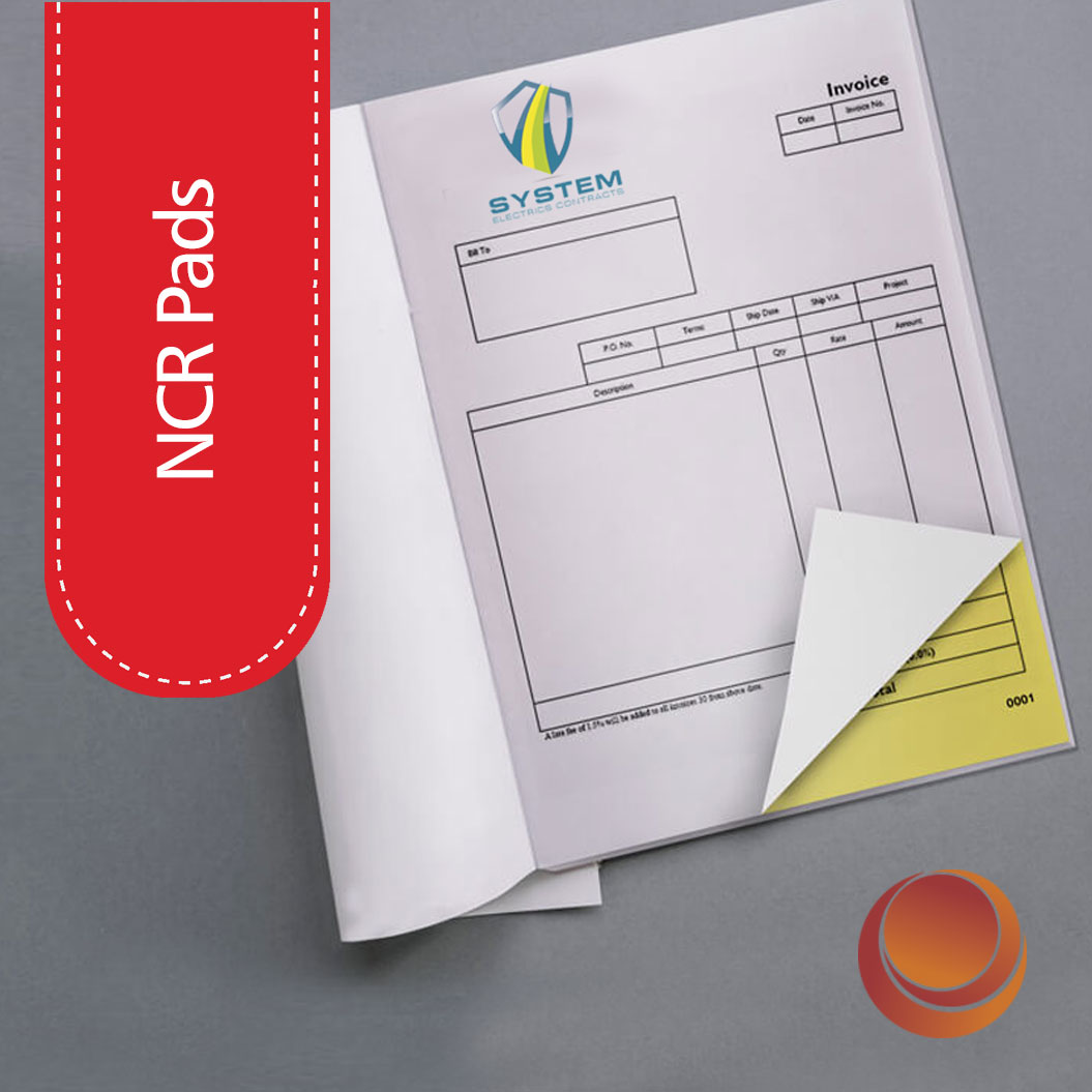 NCR Books Printing & Printer