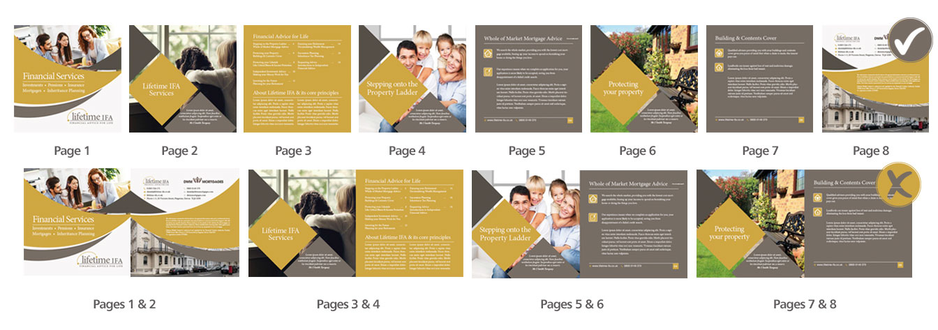 booklet layout for print