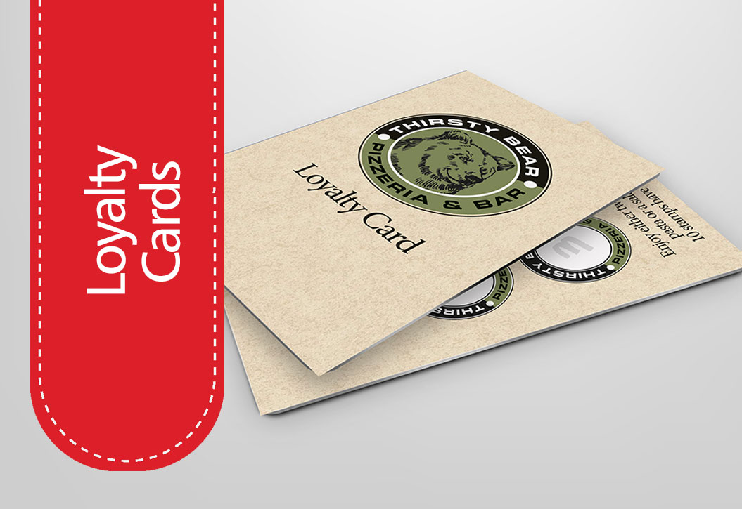 Loyalty Cards printing