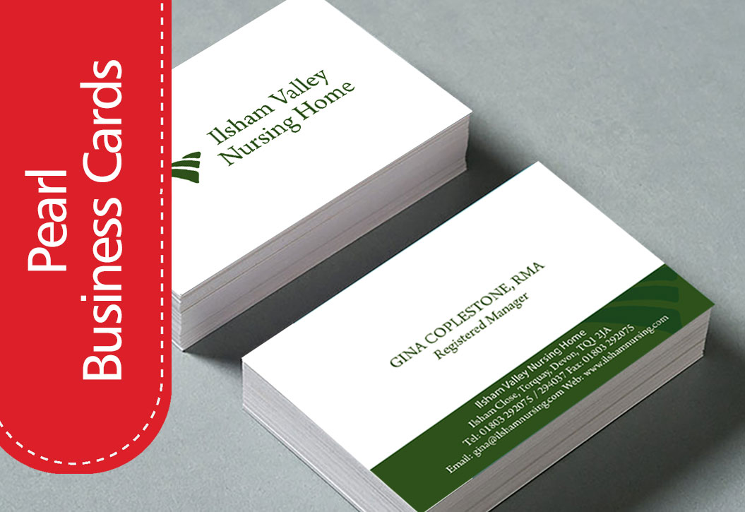 Pearl Business Cards printing