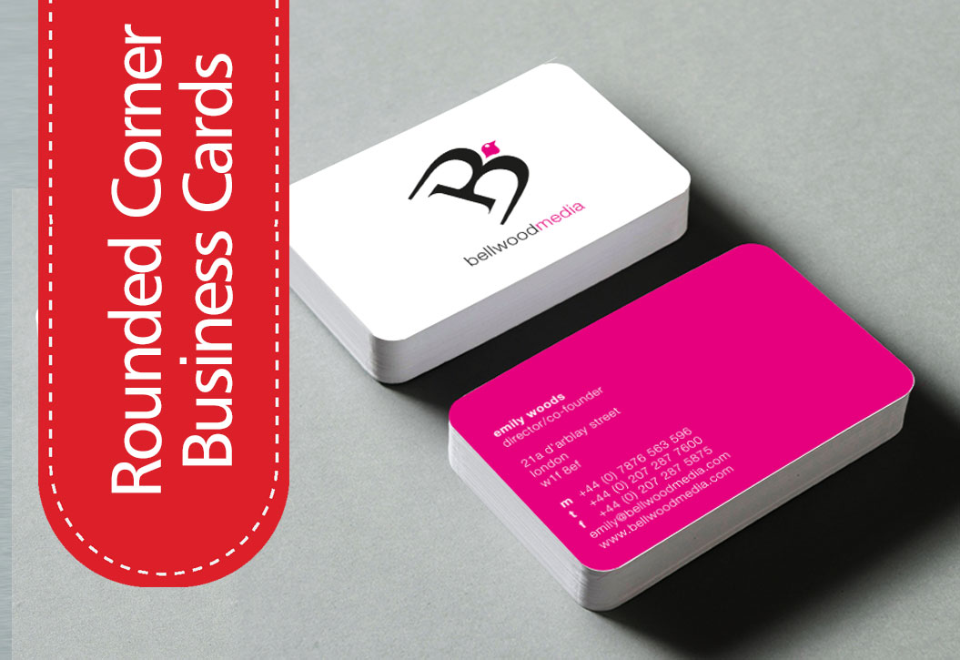 Rounded corner Business Cards printing