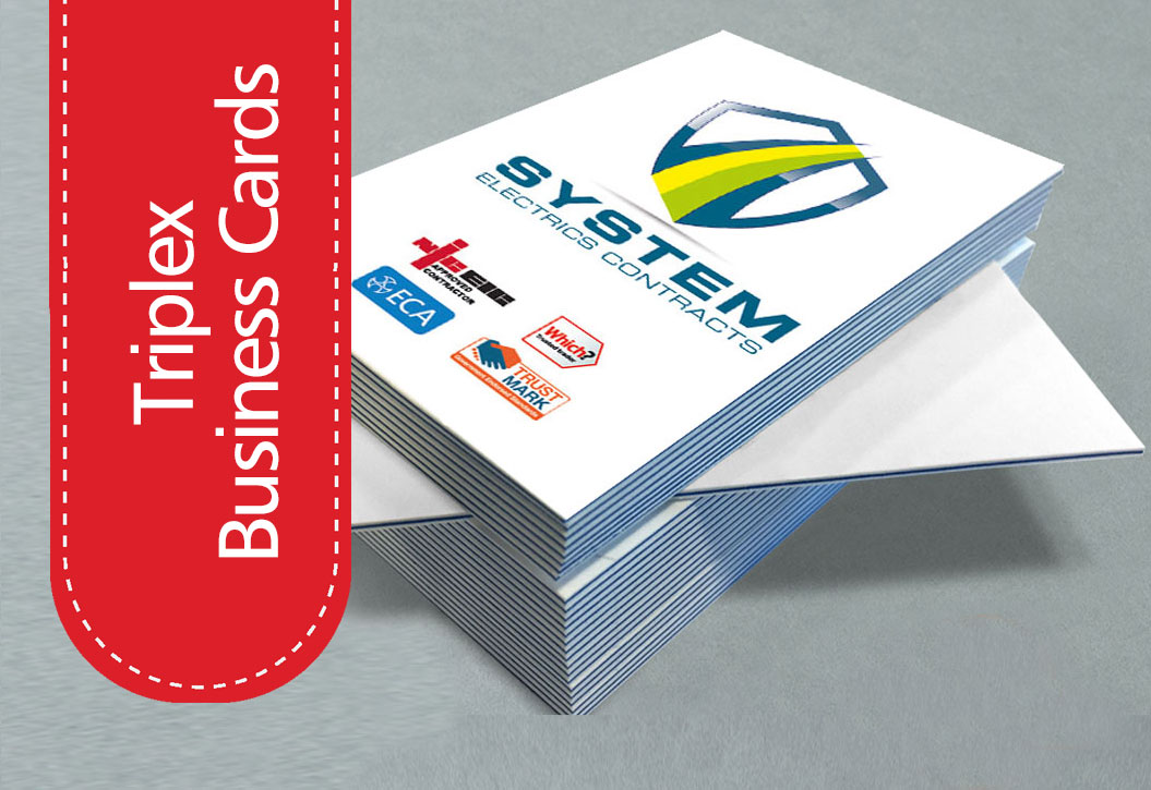 triple layer Business Cards printing