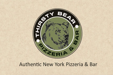 Thirsty Bear Business Cards