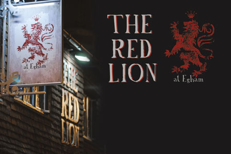 Red Lion Business Cards