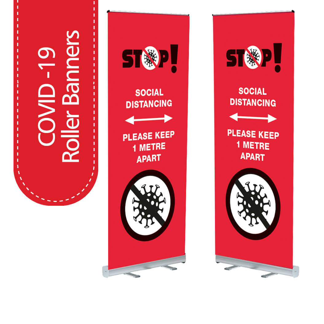 Covid-19 Roller Banners