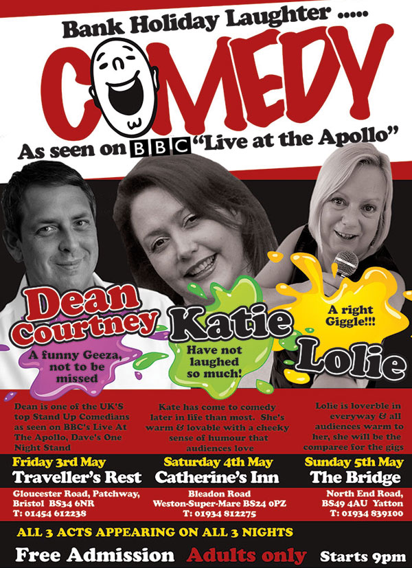 Comedy A5 Flyer