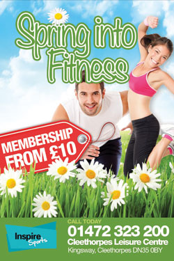 Inspire Sports Centre A5 Flyer