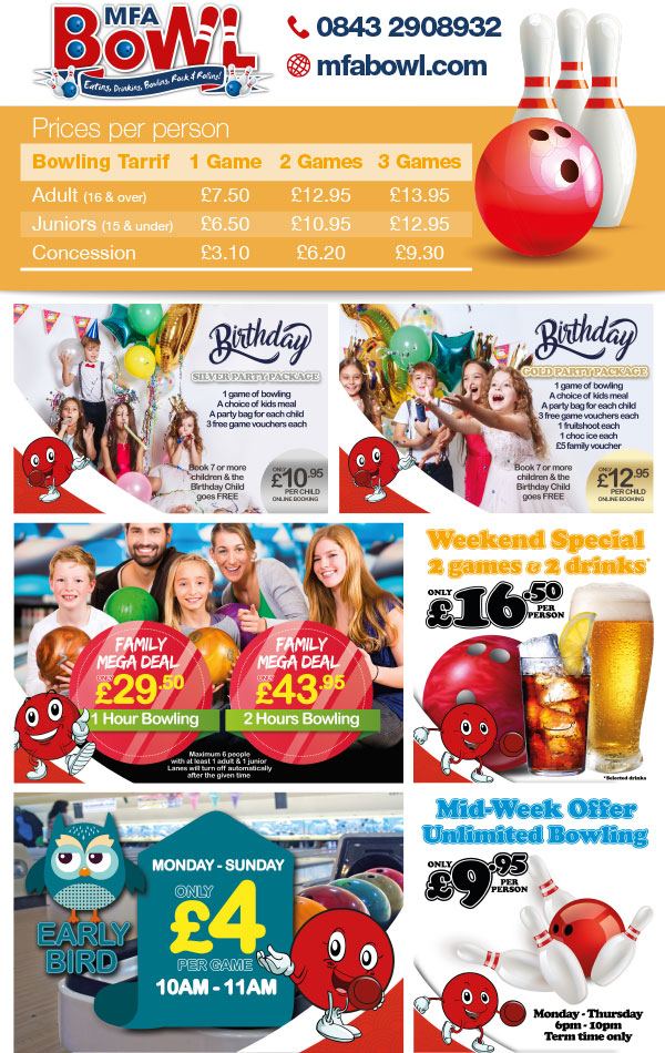 Bar, Pub and Club Leaflet Printing and Design