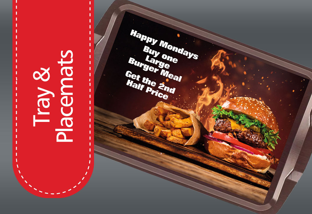 Restaurant and room service Placemats printing
