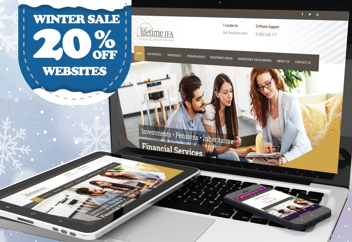 20% off websites Cherwell