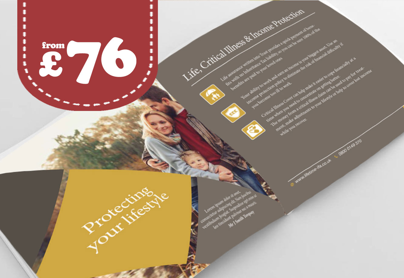 Brochure Printing and design Stepney