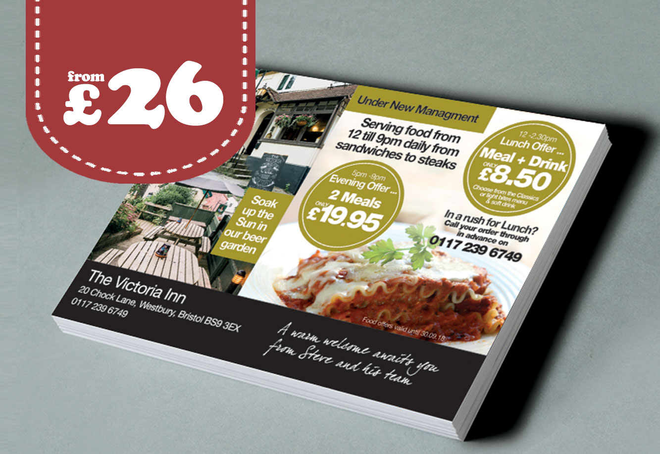 Flyer Printing Stevenage