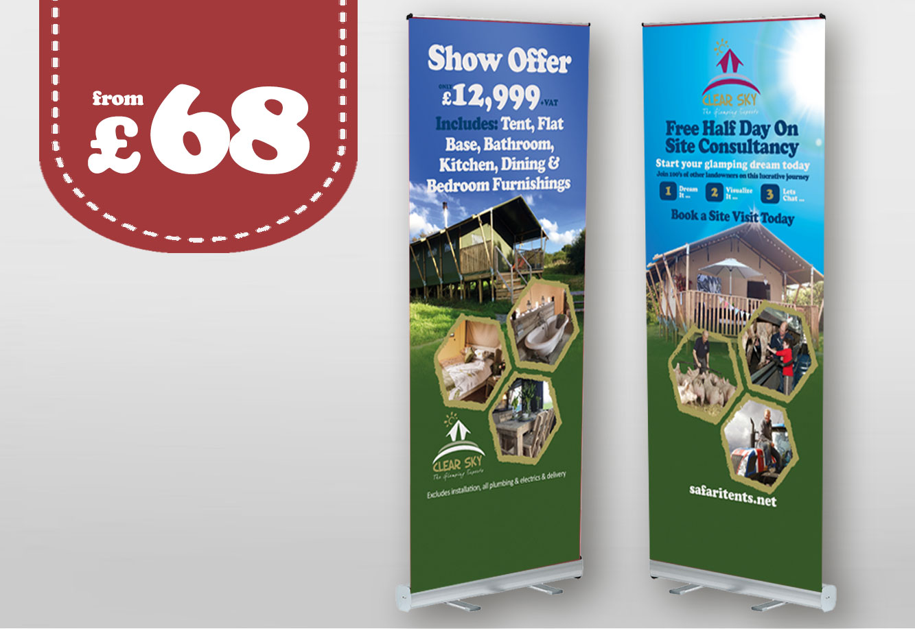 Roller Banner Printing Blackwall
