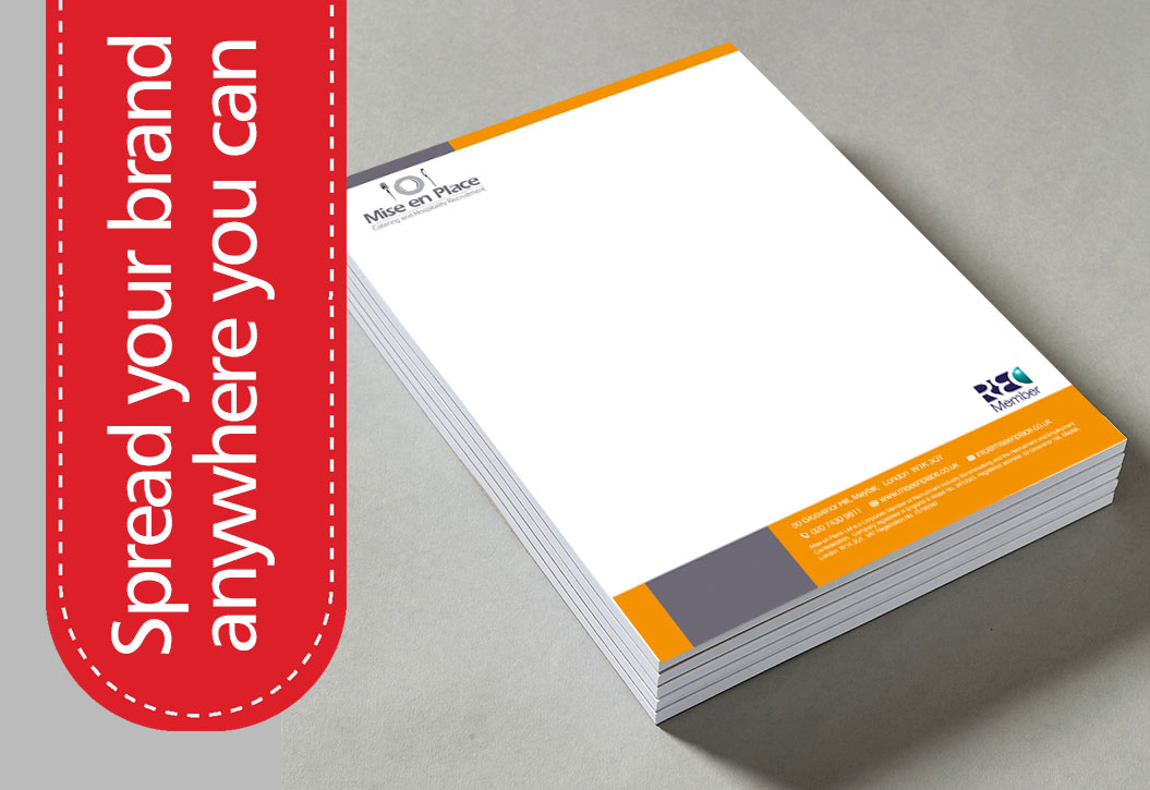 Full Colour Note Pad printing