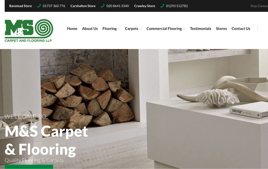 Carpet & Flooring Website Design