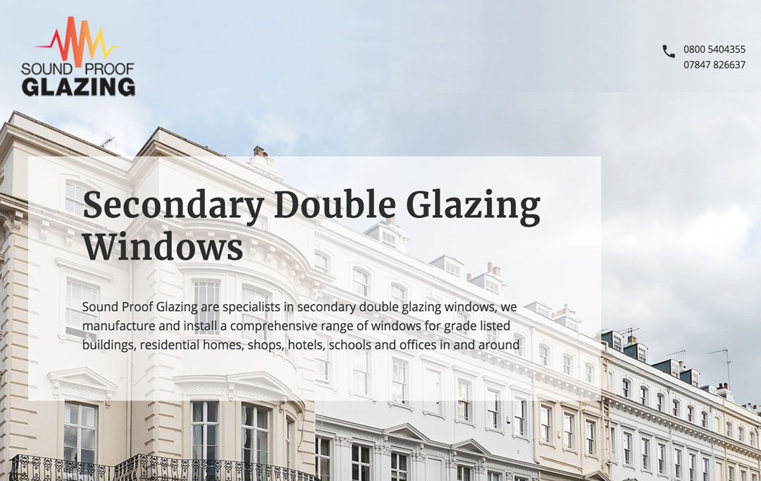 Double Glazing Website Design